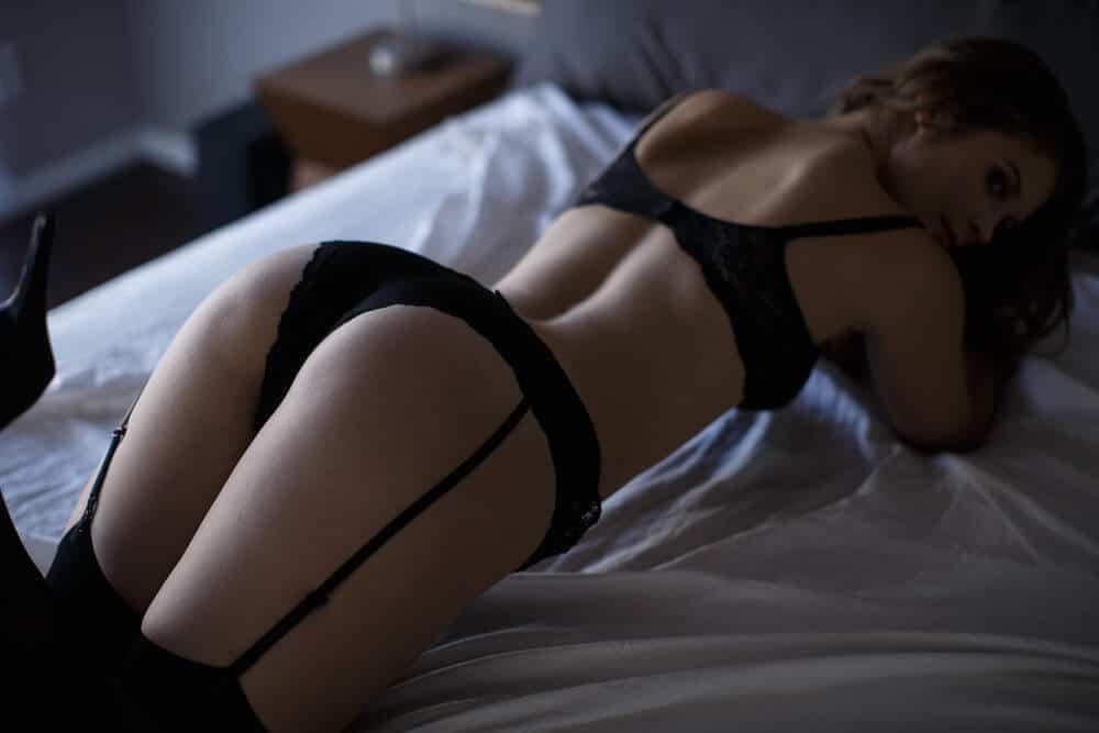 Femme sexy boudoir lingerie
