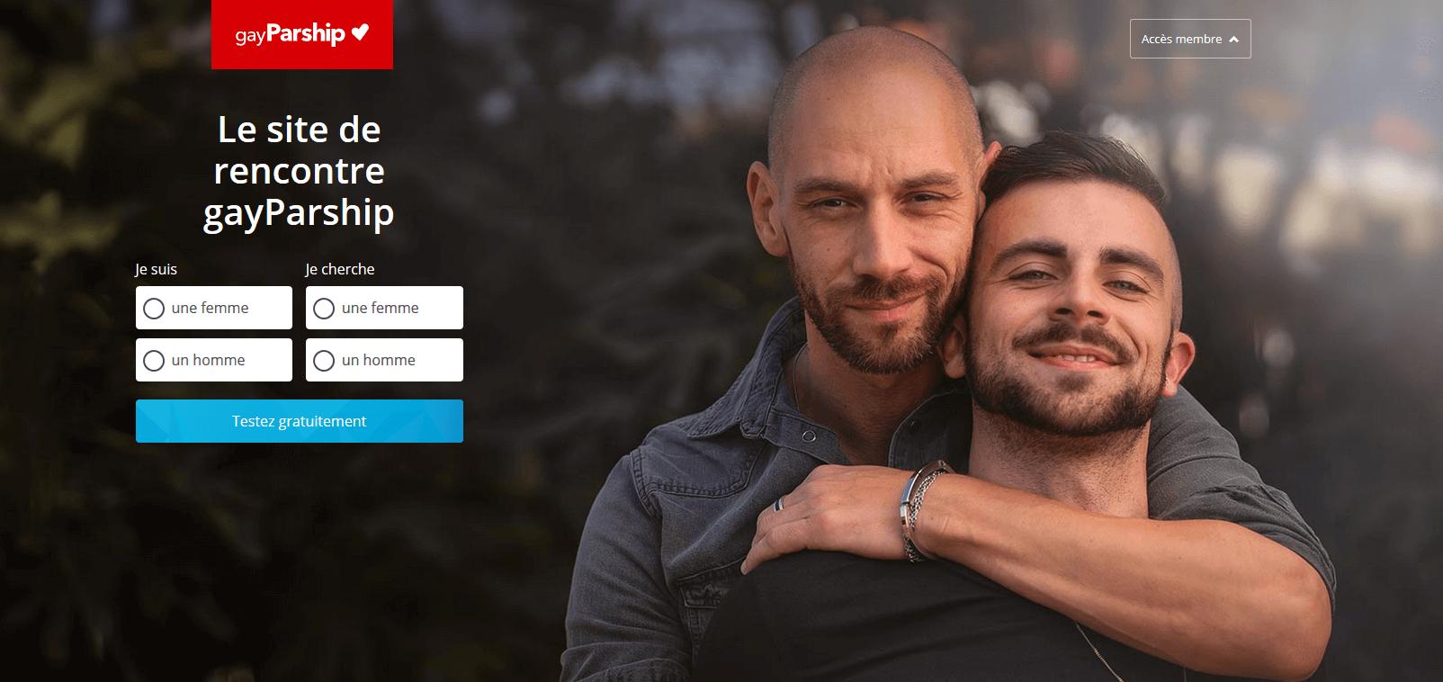 Gayparship accueil
